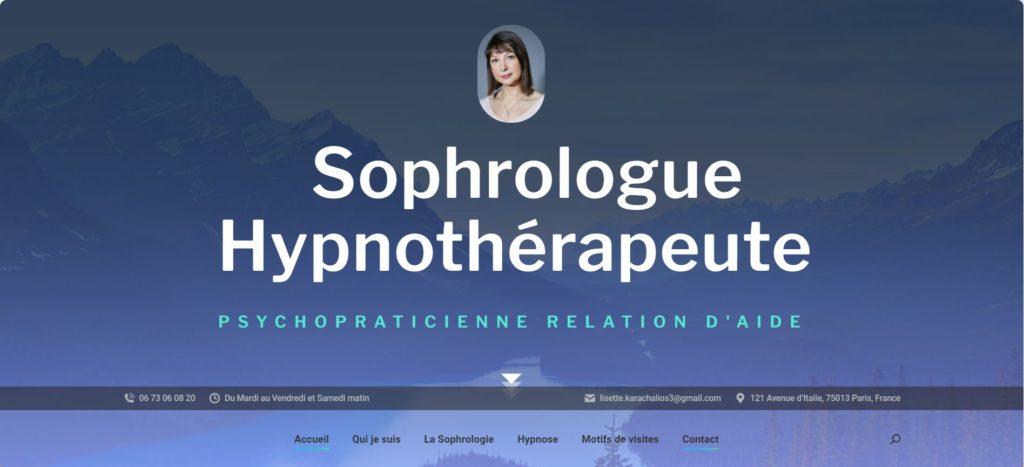 Joanna Karachalios conceptrice web wordpress psychologues sophrologue